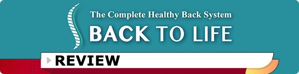 Back to Life - 3 Level Healthy Back System Review